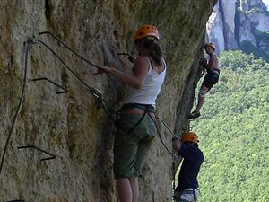 Via Ferrata / Vertical adventure / Aerial adventure