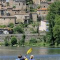 Sports activities in the Tarn gorges South of France