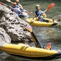 Rafting Hot Dog Millau France Gorge of Tarn Sport activity