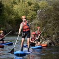 Stand up paddle Megacraft in Frankrijk en Gorges van de Tarn