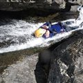 Canyoning Canyon without ropes Millau France gorges of Tarn