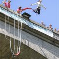 Bungee jumping D'alzon France activity grooves of the Screw